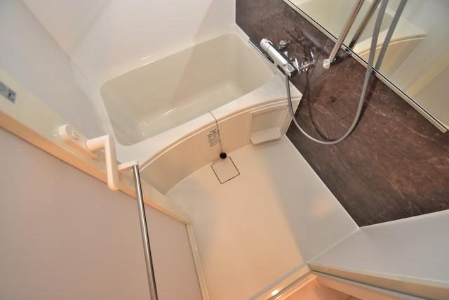 スプランディッド北巽 ちょうどいいサイズのお風呂です。お掃除も楽にできますよ。