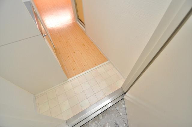 レガーレ布施 お部屋の入口には何も置かず、シンプルが一番ですね。