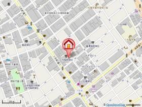 人形町駅 徒歩1分案内図