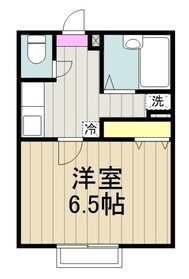 アムール栞1階Fの間取り画像
