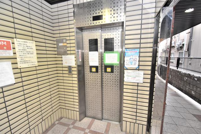 荻田第6ビル 嬉しい事にエレベーターがあります。重い荷物を持っていても安心