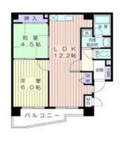 ウィステリア・ジョイン・マンション上大岡2階Fの間取り画像