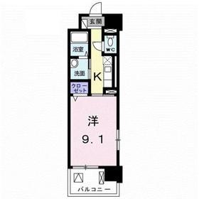 八王子駅 徒歩19分10階Fの間取り画像