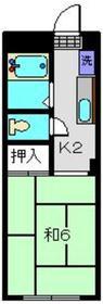 YSハウス1階Fの間取り画像
