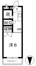 ロワールA3階Fの間取り画像