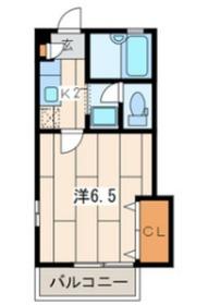 パークコート2階Fの間取り画像