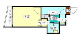 湘南マンション2階Fの間取り画像