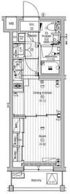 プレミアムキューブ世田谷#mo3階Fの間取り画像
