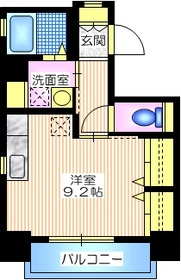 セードル横浜7階Fの間取り画像