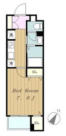 ルピナス4階Fの間取り画像