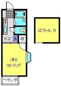 高島町駅 徒歩28分2階Fの間取り画像