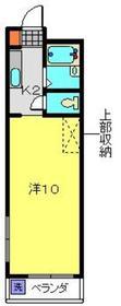 メゾンコサカ2階Fの間取り画像