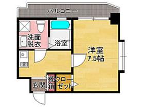 ダイナコートエスタディオミューズ : 6階間取図