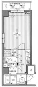 グランド・ガーラ横浜関内2階Fの間取り画像
