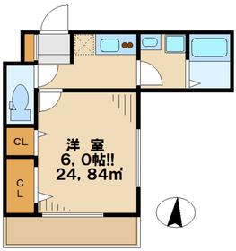 ソラーナ3階Fの間取り画像