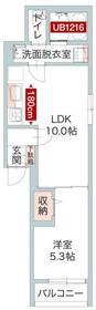 Planorio宮崎台(プラノリーオミヤザキダイ)1階Fの間取り画像