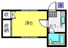 ユーハイム白楽1階Fの間取り画像
