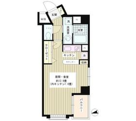 ウィステリアコート3階Fの間取り画像