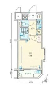 バージュアル横濱妙蓮寺3階Fの間取り画像