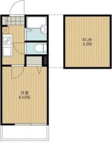 リーヴェルポート横浜SOUTHⅢ1階Fの間取り画像