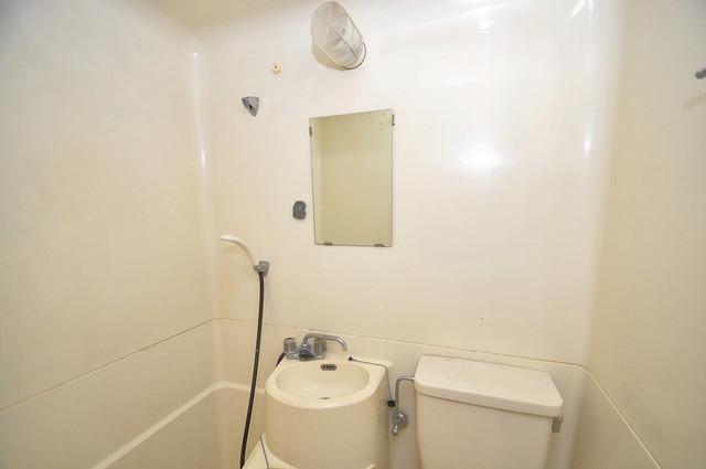 グランドハイツ大今里 小さいですが洗面台ありますよ