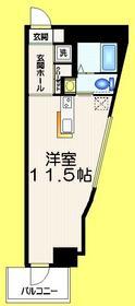 東中野駅 徒歩2分3階Fの間取り画像
