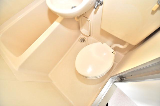 カーサデル吉松 スタンダードなトイレは清潔感があって、リラックス出来ます。