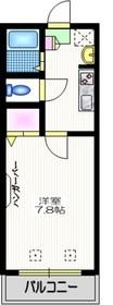 田園ハウスⅡ2階Fの間取り画像