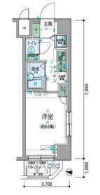リヴシティ横濱新川町3階Fの間取り画像