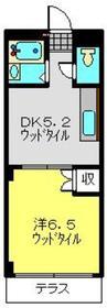 パラムコスギ1階Fの間取り画像