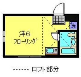 ネオステージ東寺尾イースト1階Fの間取り画像