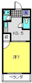 日吉本町駅 徒歩29分1階Fの間取り画像