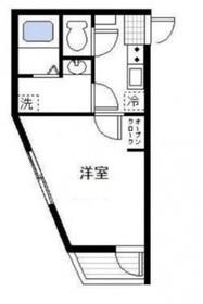 平沼橋駅 徒歩14分2階Fの間取り画像