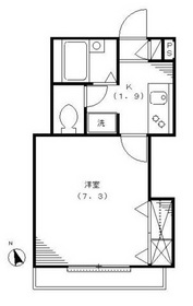 ロハス吉祥寺2階Fの間取り画像