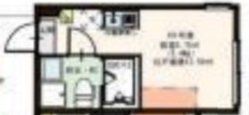 HIMOテラス妙蓮寺1階Fの間取り画像