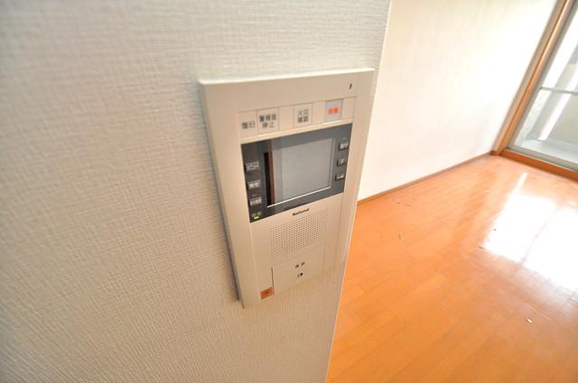 ディナスティ東大阪センターフィールド モニター付きインターフォンでセキュリティ対策もバッチリ。