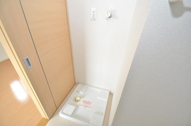 カーサルミエール 室内に洗濯機置き場があれば雨の日でも安心ですね。