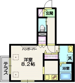東松原駅 徒歩15分1階Fの間取り画像