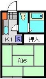 日吉駅 徒歩32分1階Fの間取り画像