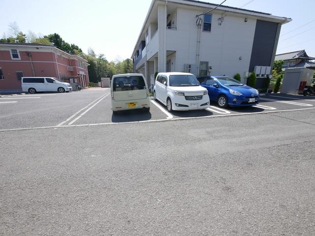 ウイステェリアⅢ駐車場