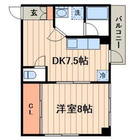 アプトコダマ3階Fの間取り画像
