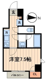 デュオメゾン菊川5階Fの間取り画像