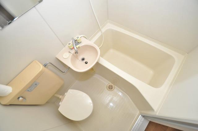 メゾン北野 シャワー一つで水回りが掃除できて楽チンです