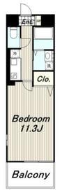 グレイシャス3階Fの間取り画像