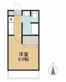 フィオーレ上東 Ⅱ1階Fの間取り画像