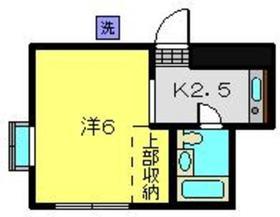 リブ細川2階Fの間取り画像