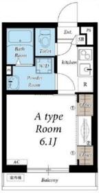 リブリ・ルビアス1階Fの間取り画像