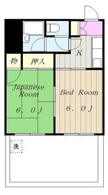 マイタウン西生田5階Fの間取り画像