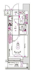 グロース西横浜3階Fの間取り画像