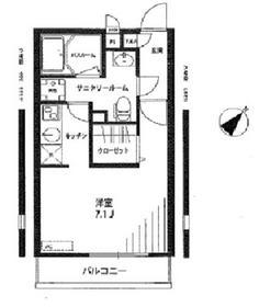 リブリ・グランシエル2階Fの間取り画像